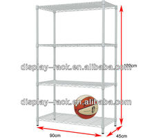 wholesale metal wire sports goods exhibition display shelf HSX-DR0595