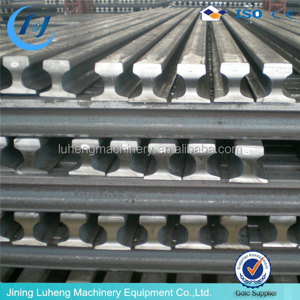 4kg/m-30kg/m Q235 coal Mining used light rail, train rails