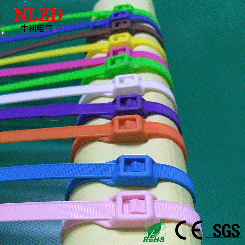 Homer 2017 hot sale nylon material pull ties ,inline cable ties for indoor playgrounds,kids amusement castles