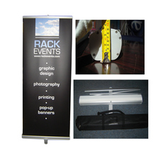 luxurious retractable roll up banner design stand banner sizes