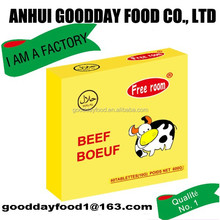 Beef Broth cooking cubes from famous goodday group