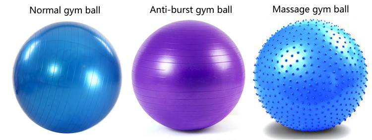yoga ball types