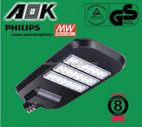 IP65 super bright led street light waterproof 120W high quality with Philips chips price list