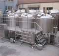 1000l beer brew equipments with beer bottling line