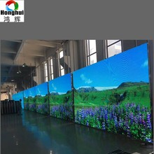 High Density P2.5 indoor rental backstage led screen display for music show