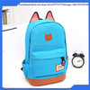 Hot Promotion Girls Kids Cartoon Cat Ear Backpacks Fashion Colors Canvas School Backpack Shoulder Bags