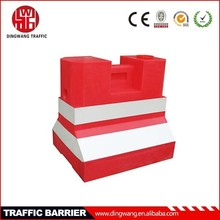 traffic facilities water filled plastic barriers