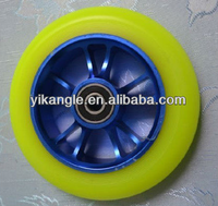 high end 110mm metal core pro scooter wheel for sale
