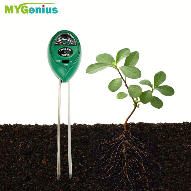 3 in 1 PH Soil Tester Water Moisture Test Light Meter ,JAfn Multifunctional Garden Soil Moisture Tester