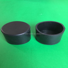 Custom virious size rubber feet synthetic rubber protective sleeve cover for table/ chair/tube