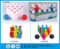 Outdoor and Indoor Sports Toy Plastic Bowling Set for Kids