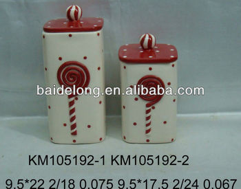 Ceramic Airtight Canister Buy Decorative Airtight Canister Ceramic Cupcake Canister Coffee