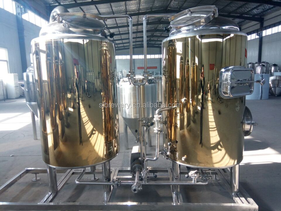 Hot Sale 1200l Industrial Beer Brewing Equipment Micro