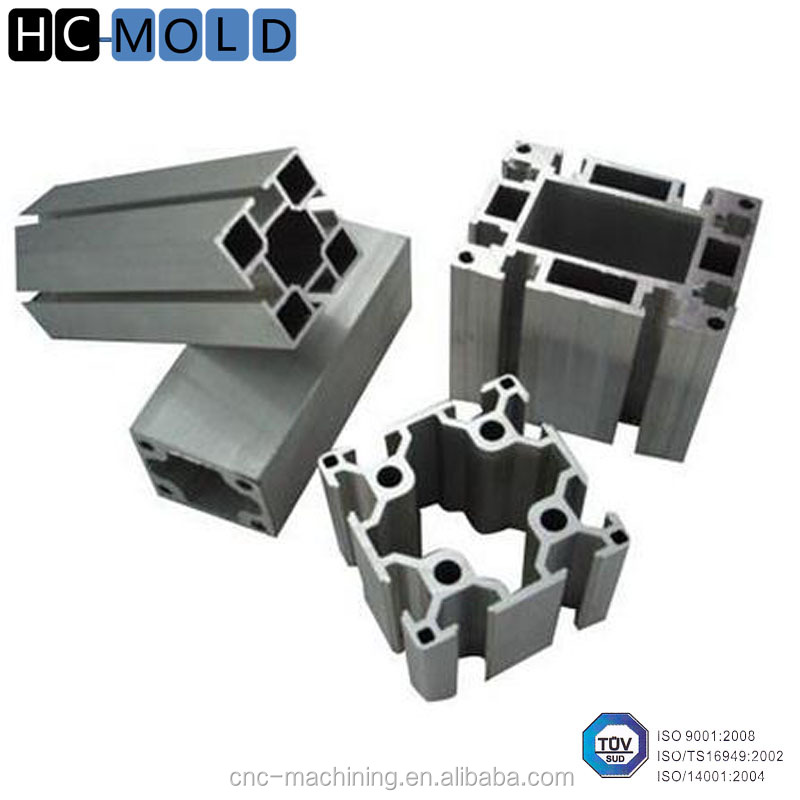 China manufacturer Industrial aluminium profile aluminum alloy extrusion product