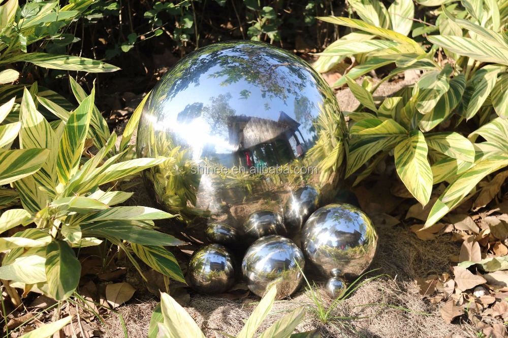 Factory price Garden/Christmas/Hallowmas/Easter/Thanksgiving Day decorative 40mm - 1000mm hollow steel sphere