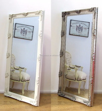 bathroom baroque classic decorative wall wood carved side mirror frame