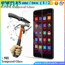 0.26mm Tempered Glass For Oneplus one two Screen Protector Oneplus 1/2 touch Anti Shatter screen protective flim guard