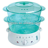 commercial food steamer visible water level indicator