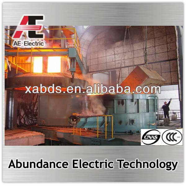 10 ton electric arc furnace used in medium size of steel plant EAF