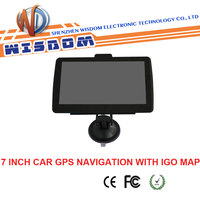 2016 Portabl Car GPS Navigation Touch Screen gps South africa navigation map