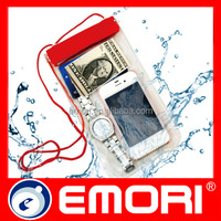 save 20% hot sale sealed waterproof case for IPhone 5 with angle display
