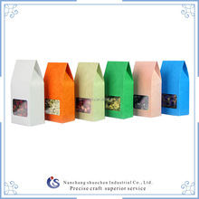 small colorful fancy paper candy packaging bag