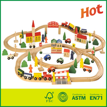 hangzhou green forest co.,ltd Supplier Of Wood Toys train ho track