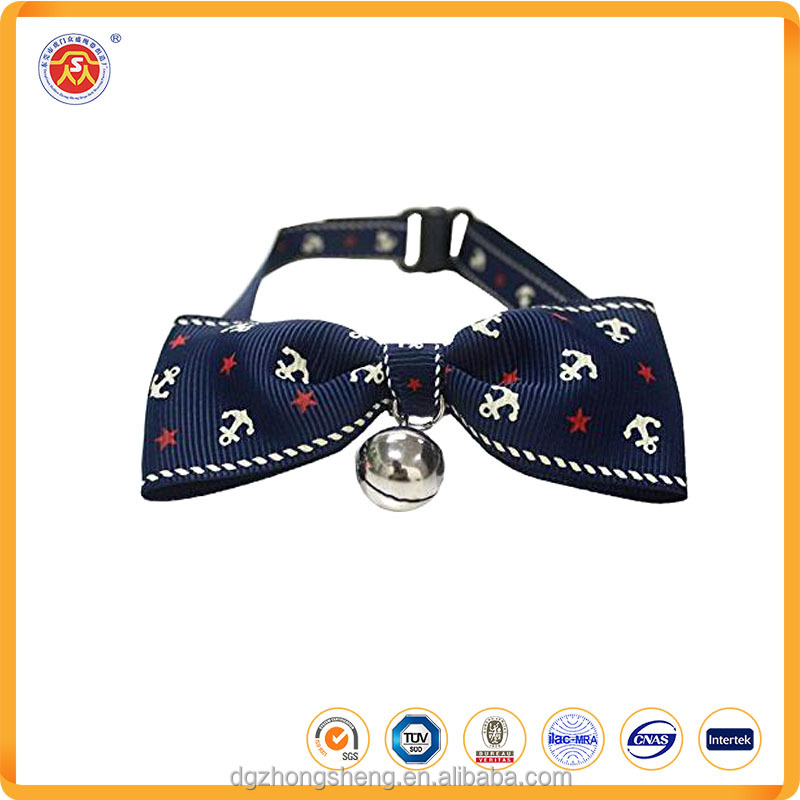 Fashionable Cute Cheap Collar Pet Collar With Nice Bow Tie and Bells For Dog and Cat