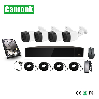 Cost Effective IR Outdoor 1080N AHD Security Camera System Cctv Ahd Kit
