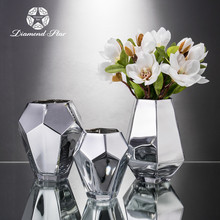 Different shaped glass vase for home decoration wholesale