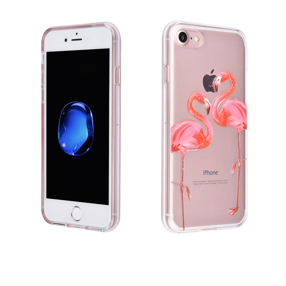 C&T IMD Printing Ultra-Thin Anti-Scratch Shock Proof Dust Proof Anti-Finger TPU Case Cover for iPhone 7