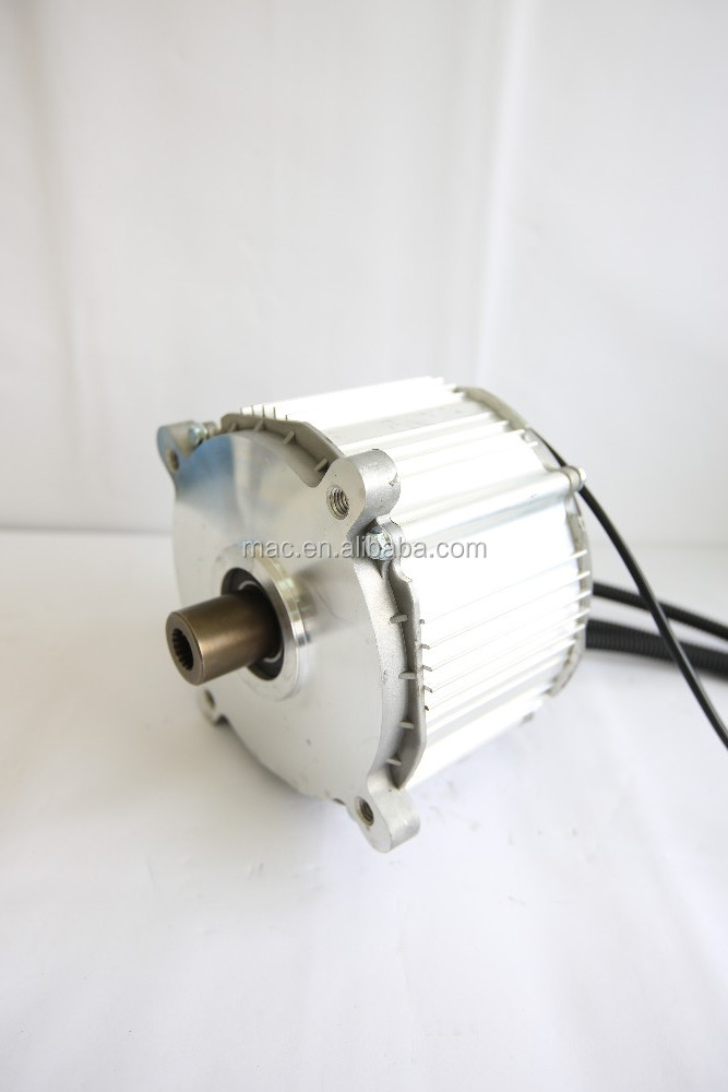 Mac 3kw 8kw high power high torque brushless dc electrical for 3kw brushless dc motor