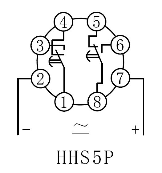 36V Timer Relay /Time relay (HHS5P)