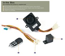 GSM and GPRS and GPS Motor Alarm Tracker