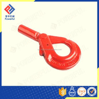 G80 U.S. TYPE PAINTED SELF LOCKING SAFETY ROPE HOOK