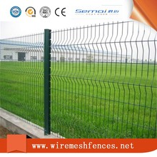 Pvc Coated Triangle Bending Welded Wire Mesh Fence For Hot Sale