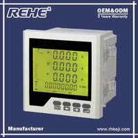 Free Sample Available Digital Panel Three Phase Digital Multimeter with RS-485 RH-3FHD3Y