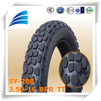 size 3.50-16//110/90-16 import motorcycle parts solid rubber color motorcycle off-road tires
