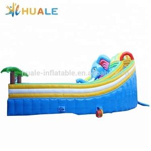 New design giant inflatable Elephant slide,big inflatable water slide