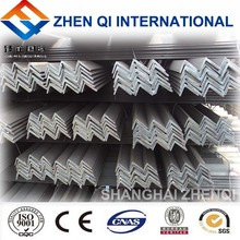 Various high quality equal / unequal steel angle bars From Shanghai Factory