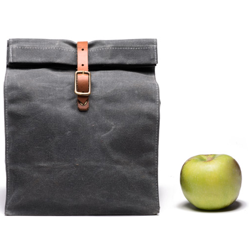 Classic Waterproof Waxed Canvas Lunch Bags