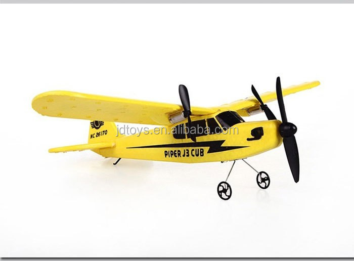 FJDTOYS New Arrival RC Glider Plane HL803 Foam EPP 2.4G 2CH flying airplane toys model for kids