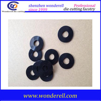 3M adhesive round flat rubber foam panel gasket | waterproof rubber ring gasket for faucets