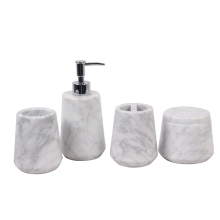 New wholesale bathroom accessories and marble christmas bathroom accessories from china manufacturer