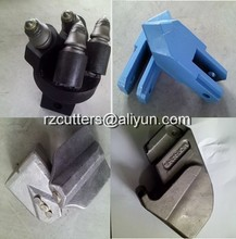 flat drilling cutter /piling rig cutter/tungsten carbide trenching bit