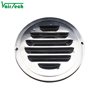 Hvac waterproof stainless steel round air vent cover