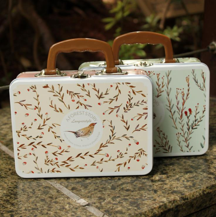 tin travel storage bag,sundries storage box