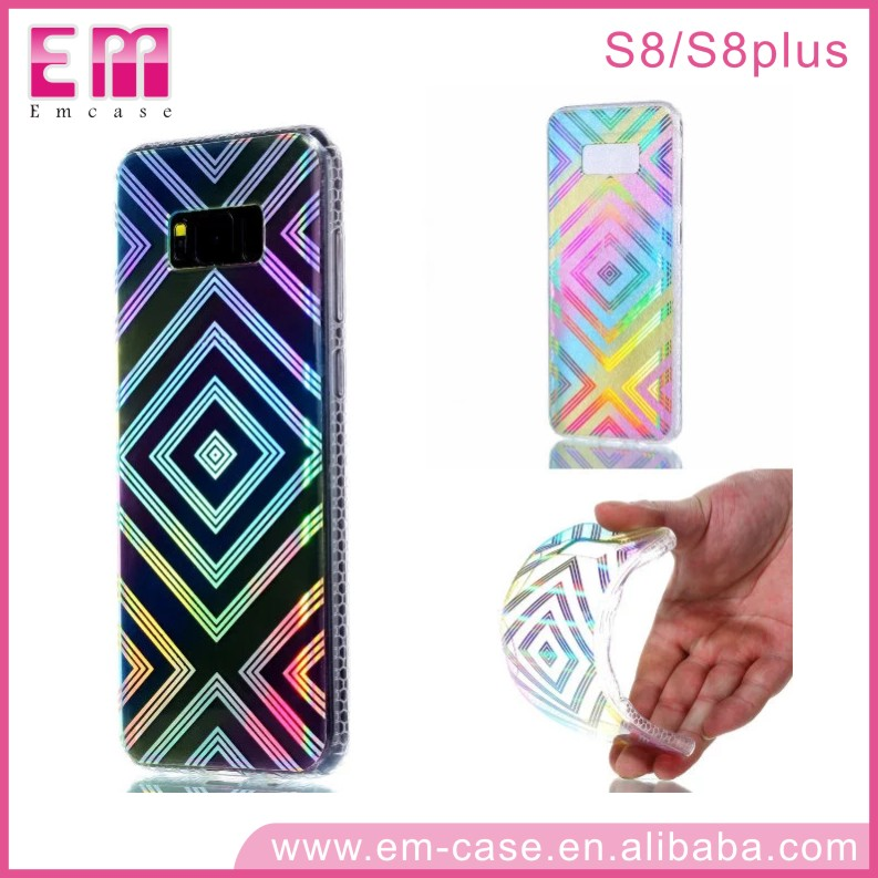 New ! Newest Transparent TPU Back Cover Soft Electroplate Phone Case,mobile phone shell