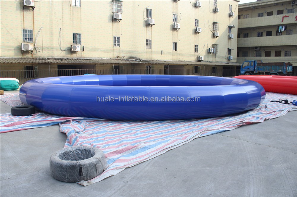 80cm high 0.9mm PVC inflatable round water swimming pool inflatable water toys pool