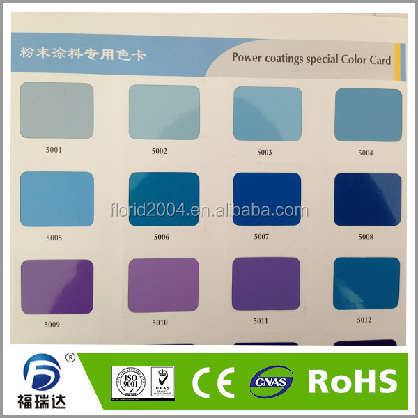 Epoxy Polyester spray thermosetting powder coating paints for grass cutter mower